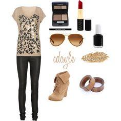 Black leopard.