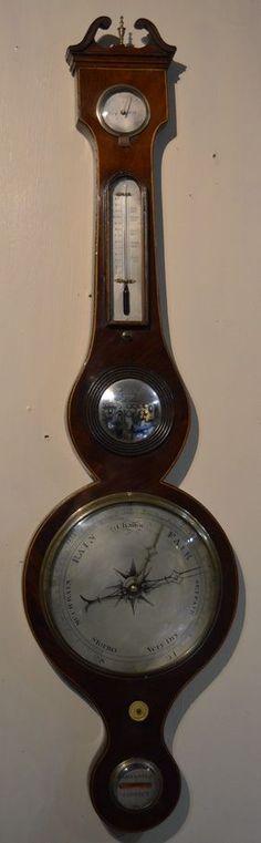 Victorian 5 Dial Barometer