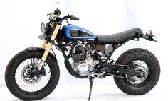 Modifikasi Yamaha Scorpio 2011 - Bobber Semi Scrambler