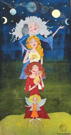 Happy International Womensday - ein MusenKuss für alle Generationen! - MusenKuss Muse, Illustration, Blog, Painting, Inspiration, Happy, Collection, Art, Divine Feminine
