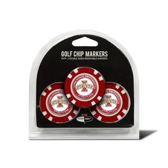 Iowa State Cyclones Golf Ball Markers 3 Pack Poker Chip