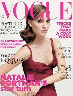 natalie portman vogue magazine October 2005 cover and interview
