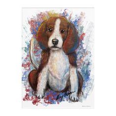 Beautiful Beagle Puppy Acrylic Wall Art! Acrylic Wall Art  $63.00  by TheBellaRoseStudio  - custom gift idea