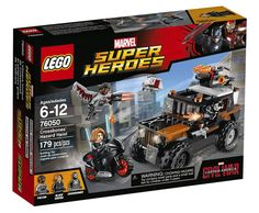 Toy Time Plays With Captain America: Civil War LEGO Sets