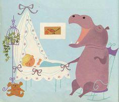 Elisabeth Brozowska, Isidore L'Hippopotame, 1969
