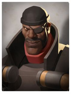 Team Fortress 2 portraits by Moby Francke
