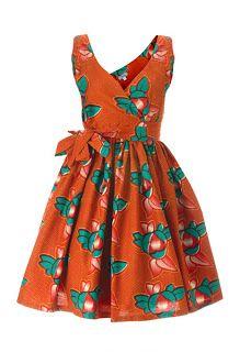 KaKKi: Preety dresses African Print / Chitenge dresses: Sunday things
