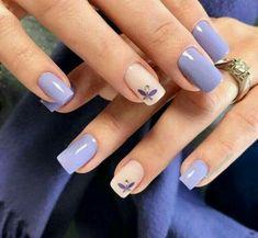 35 charming and beautiful purple nail designs charming purple nail designs - Nails - Best Nail World Purple Nail Designs, Fall Nail Art Designs, Acrylic Nail Designs, Nagellack Design, Nagellack Trends, Trendy Nail Art, Stylish Nails, Nagel Gel, Purple Nails