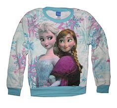 Disney Frozen Anna Snow Queen Girls Kids Long Sleeve Fleece Sweater Shirt (Medium 10-12) Disney http://www.amazon.com/dp/B00NIK4M3A/ref=cm_sw_r_pi_dp_yENnub0DVKSWG