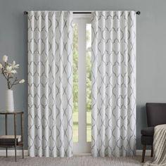 Regency Heights Lexi Rod Pocket Window Curtain Panel - BedBathandBeyond.com