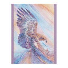 FATHER SKY - MOTHER EARTH BY KATHY MORROW FLEECE BLANKET  $37.95  by KathyMorrowStudio  - custom gift idea
