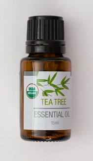 Our Tea Tree Oil is USDA Certified Organic and therapeutic grade quality. Herbaceous aroma. Country of origin: Australia. 15 ml amber bottle.   Ingredients: certified organic melaleuca (tea tree) oil (steam distilled)  Oils are 3rd party tested to ensure therapeutic grade quality. None of the oils have been diluted or synthetically altered. These essential oils have not been evaluated by the Food and Drug Administration. These products are not intended to diagnose, treat, cure or prevent any…