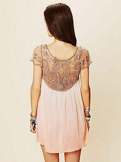 Free People Clothing Boutique > Embellished Palms Tunic