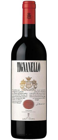 Antinori Tignanello Red Wine. Piero Antinori's opulent, intense Tignanello represents the very best of the Super-Tuscan movement: | spiritedgifts.com