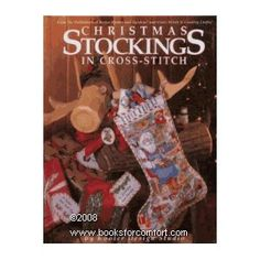 Counted Cross Stitch Book Christmas Stockings Lovely Designs Better Homes and Gardens Hard Cover Boo Baby's First Christmas Stocking, Cross Stitch Christmas Stockings, Babies First Christmas, Christmas Cross, Christmas Ideas, Holiday Ideas, Christmas Gifts, Christmas Decorations, Christmas Ornaments