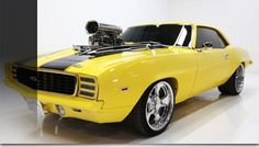 1969 Chevrolet Camaro RS SS – Freshly Restored, Supercharged 461