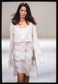 Christy Turlington SS 1994 #fashion #archives