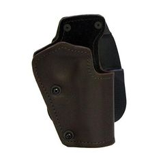 3 Layer Synthetic Leather Paddle Holster - Taurus 24-7 OSS, Brown, Right Hand