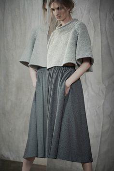 Boxy, Cropped, Sweater