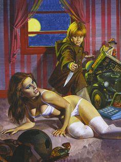 Erotic horror sex stabbing fantasy