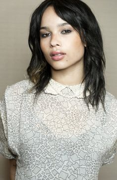 """Zoë Kravitz - Star of the indie film """"Yelling at the Sky"""", X-Men First Class,"""