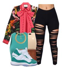 """""""I love this"""" by polyvoreitems5 ❤ liked on Polyvore featuring Gucci, Doublju, MICHAEL Michael Kors, Forever 21 and NIKE"""