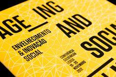 Identity for a Fundação Calouste Gulbenkian's event about ageing and social innovation. 2012