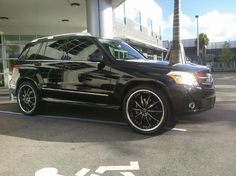 "Omg I so love this!!!!!!!!black mercedes glk with rims | GLK with 20"" Lexani CS2 - Benzworld.org - Mercedes-Benz Discussion ..."