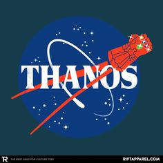 Infinity Space T-Shirt - Infinity Gauntlet T-Shirt is $13 today at Ript!