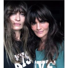 Yummy Mummies: Caroline de Maigret and Helena Christensen