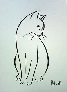 Afbeeldingsresultaat voor silhouette van twee katten Tap the link for an awesome. - Afbeeldingsresultaat voor silhouette van twee katten Tap the link for an awesome selection cat and - Painting & Drawing, Cat Drawing, Line Drawing, Drawing Faces, Drawing Animals, Cat Sketch, Silhouette Images, Cat Silhouette Tattoos, Cat Quilt