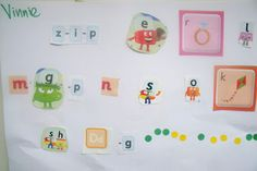 Preschool Literacy - Letter Collages