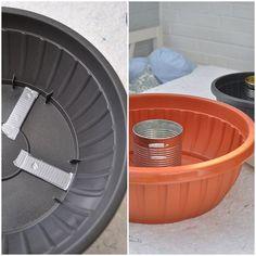 DIY: cast fire bowl from concrete itself Cement Art, Concrete Cement, Concrete Crafts, Concrete Projects, Concrete Jewelry, Bible Crafts For Kids, Beton Diy, Decoration Inspiration, Fire Bowls