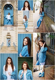 Gorgeous senior pictures of this awesome girl in Oldtown Alexandria