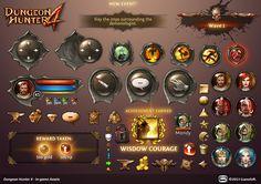 Dungeon Hunter 4 in-game Assets by Panperkin.deviantart.com on @deviantART