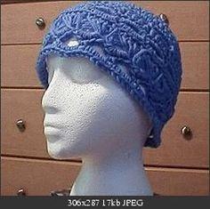 Broom stitch hat