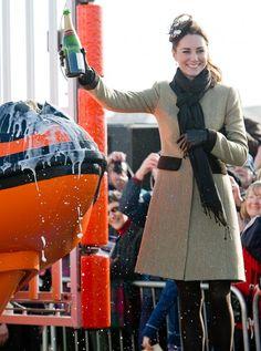 Kate Middleton in Katherine Hooker
