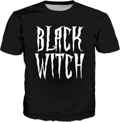 #Black #witch #classic, black #tee #shirt, fantasy, magical font #apparel - item printed by www.rageon.com/a/users/casemiroarts - also available at www.casemiroarts.com #style #clothing #fashion #tees