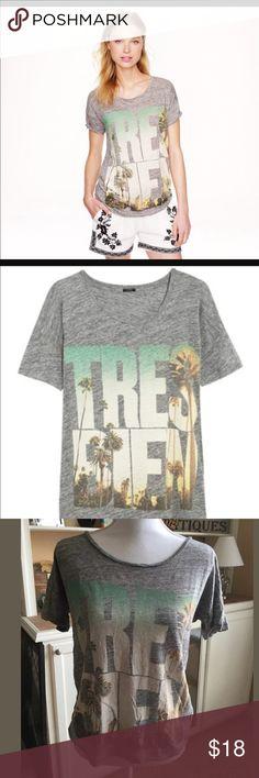 """J. Crew """"tres bien"""" linen shirt Super cute t shirt J. Crew Tops"""