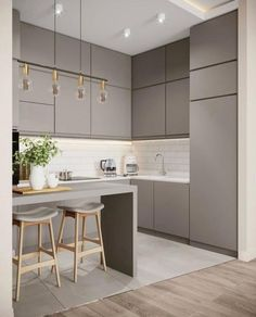 Kitchen Room Design, Kitchen Dinning, Modern Kitchen Design, Bathroom Interior Design, Kitchen Interior, Kitchen Decor, Küchen Design, House Design, Classic Bathroom Furniture