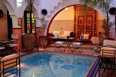 Schau dir dieses großartige Inserat bei Airbnb an: DOUBLE or TWIN:Wifi+breakfast+AIR/C - Bed & Breakfast zur Miete in Marrakesch