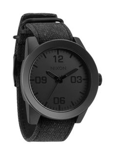 All black watches = :)