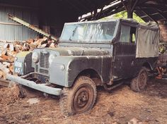 My 1954 barn find Series 1 Land Rover. Two owners. 52000 miles. 100% original…