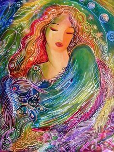 An Air Goddess. Ronnie Biccard.