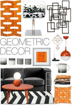 """Geometric Decor"" by ladomna on Polyvore"