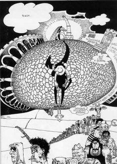 le straordinarie avventure di penthotal   andrea pazienza     su alteralter  n. 11/1977