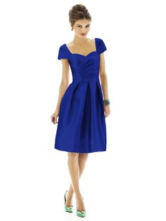alfred sung style D574 - royal blue