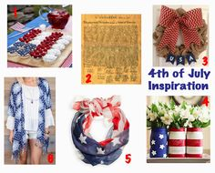 4th of July Inspiration  http://lifeofbrookeandjane.blogspot.com/2014/07/4th-of-july-inspiration.html