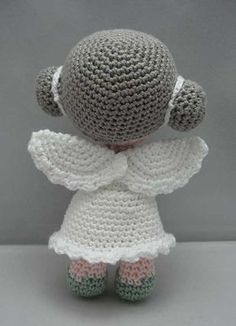 Flower Angel amigurumi by NenneDesign