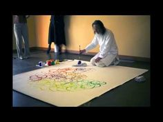 "Kazuaki Tanahashi presents ""Circle, Circle, Circle"" an exhibit of his one stroke circle paintings at the Institute of Noetic Sciences in Petaluma, California. Circle Circle, Circle Painting, One Stroke, Zen, Science, Youtube, Youtubers, Youtube Movies"